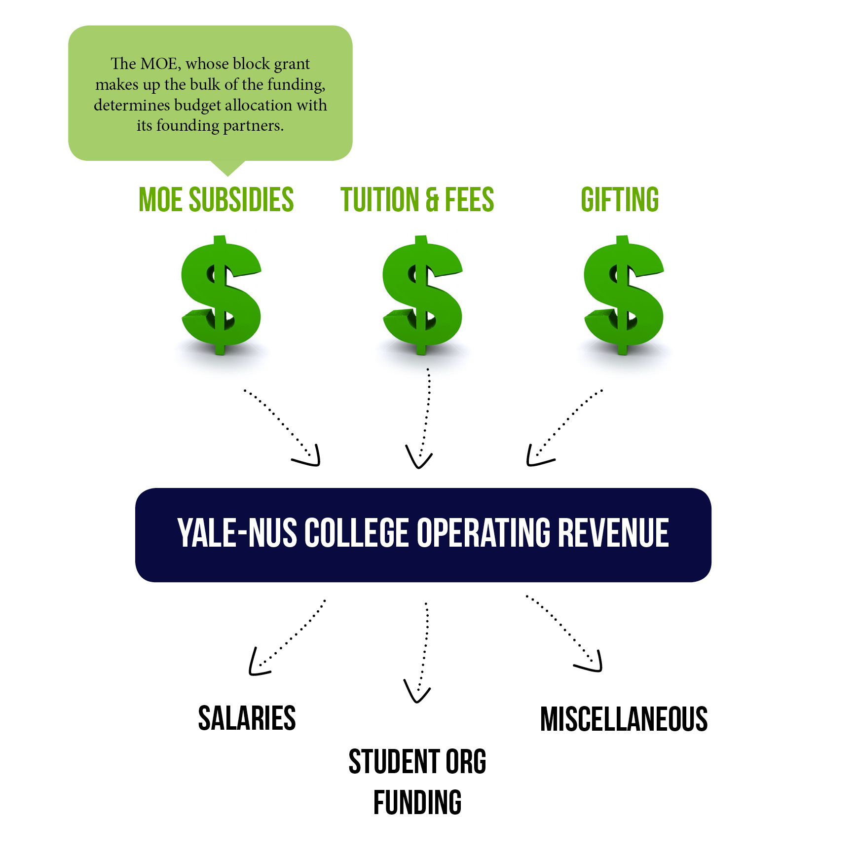 Why doesn't Yale-NUS release its financial reports?