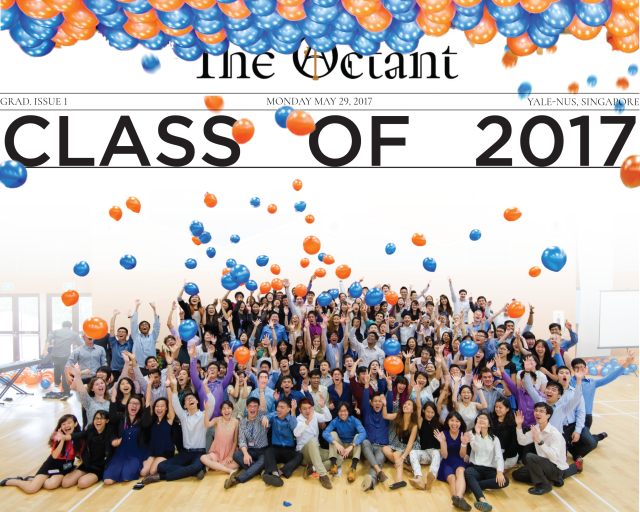 The cover image for the Class of 2017 Graduation Issue.