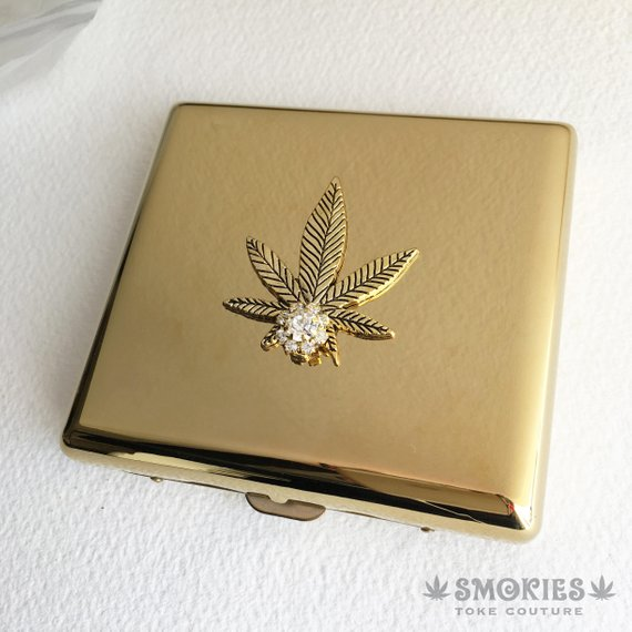 gold cigarette case smokies toke culture