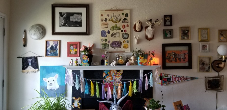 easter and ostara decorations
