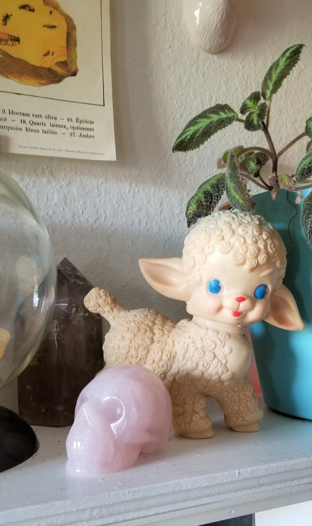 sun rubber sheep squeeze toy