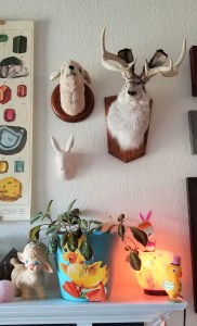 jackalope mount home decor