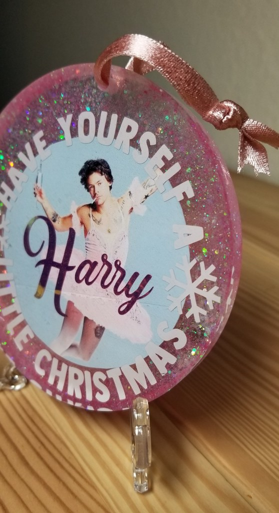 harry styles christmas ornament