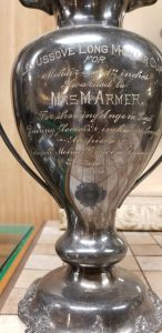 Mohair Trophy at Geronimo Springs Museum