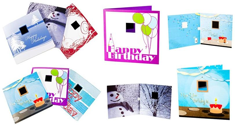 Digital photo frame greeting card theodmgroup blog customize your own card m4hsunfo
