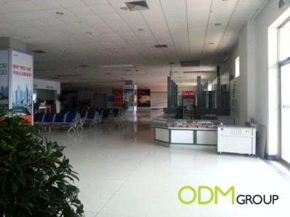 Airport in Yiwu