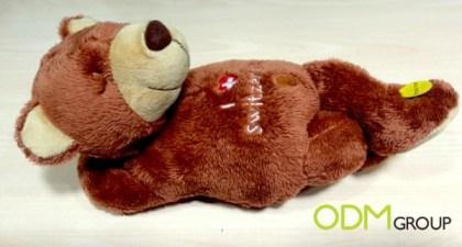 Custom Plush - Snoring Teddy
