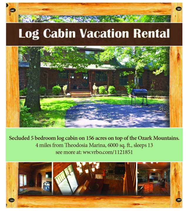 Log Cabin Ad