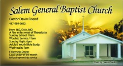 Salem General Baptist Church