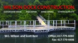 Wilson Dock Construction