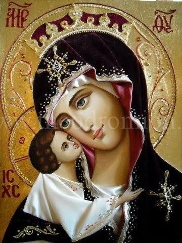 της Αννας Ζανιδάκη: ποίημα προς την Παναγιά φιλεύσπλαχνη και Αγία Μας Μητέρα