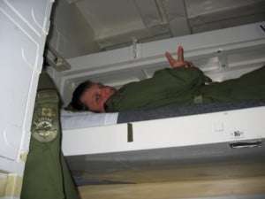 Bunk on HMCS Iroqouis