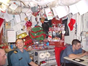 Christmas onboard HMCS Iroqouis