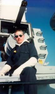 Ordinary Seaman Steve Barnes CIWS