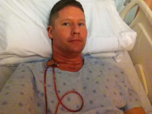 Steve Barnes Thyroid Cancer Surgery 1