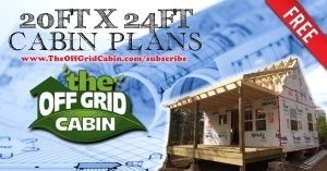 The Off Grid Cabin Floor Plan