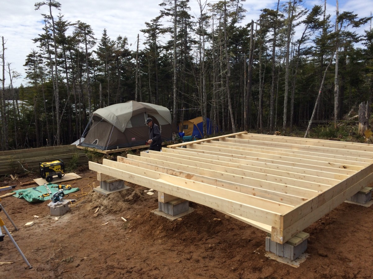 How To Build A Rock Solid Low Cost Off Grid Cabin Foundation