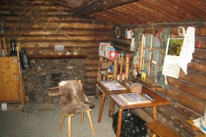 Richard Proenneke Alone In The Wilderness Cabin Interior