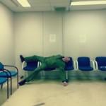 Captain Steve Barnes waiting room 2