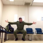 Captain Steve Barnes waiting room 5