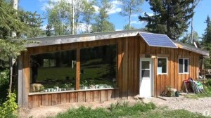 Off_Grid_House with solar