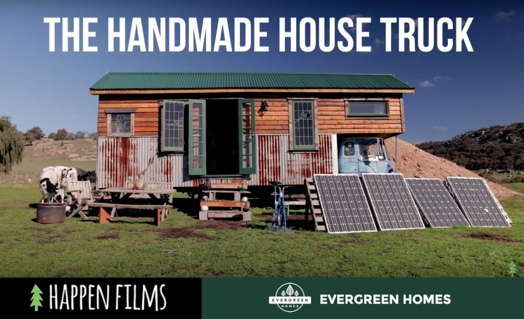 Handmade House Truck The Off grid cabin