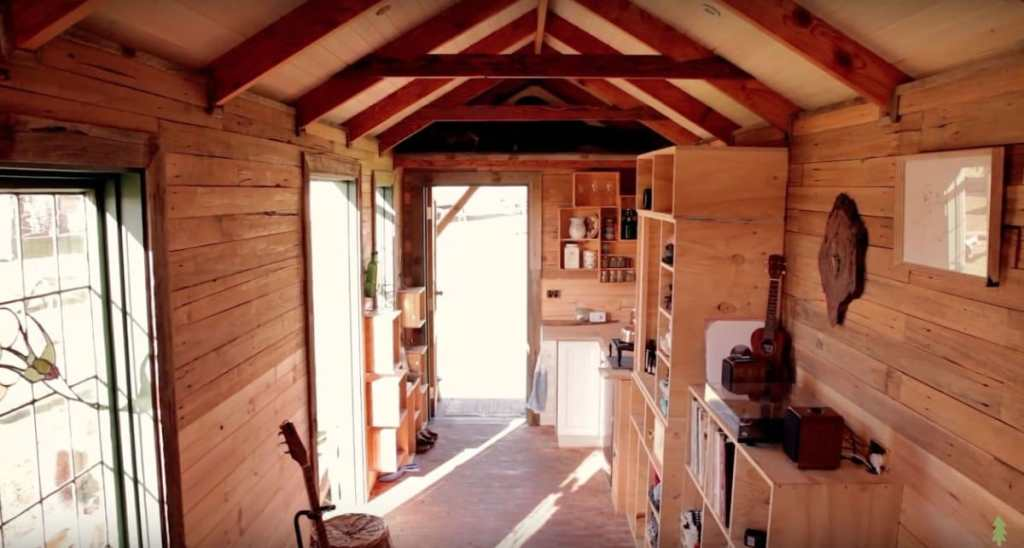 The Off Grid Handmade-House-Truck-Interior