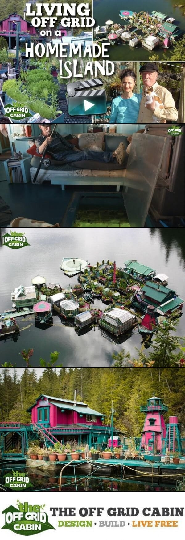 off-the-grid-on-a-homemade-island pinterest Image