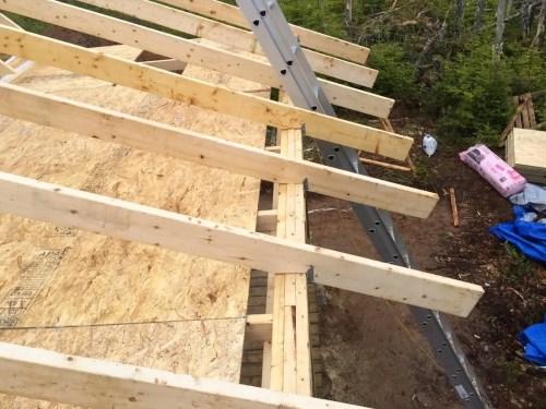 The-Off-Grid-Cabin-Deck-Rafter-Ridge-Beam