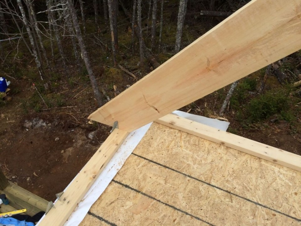 The-Off-Grid-Cabin-Roof-Rafter-on-the-top-plate