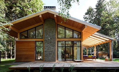 Large Roof Overhang