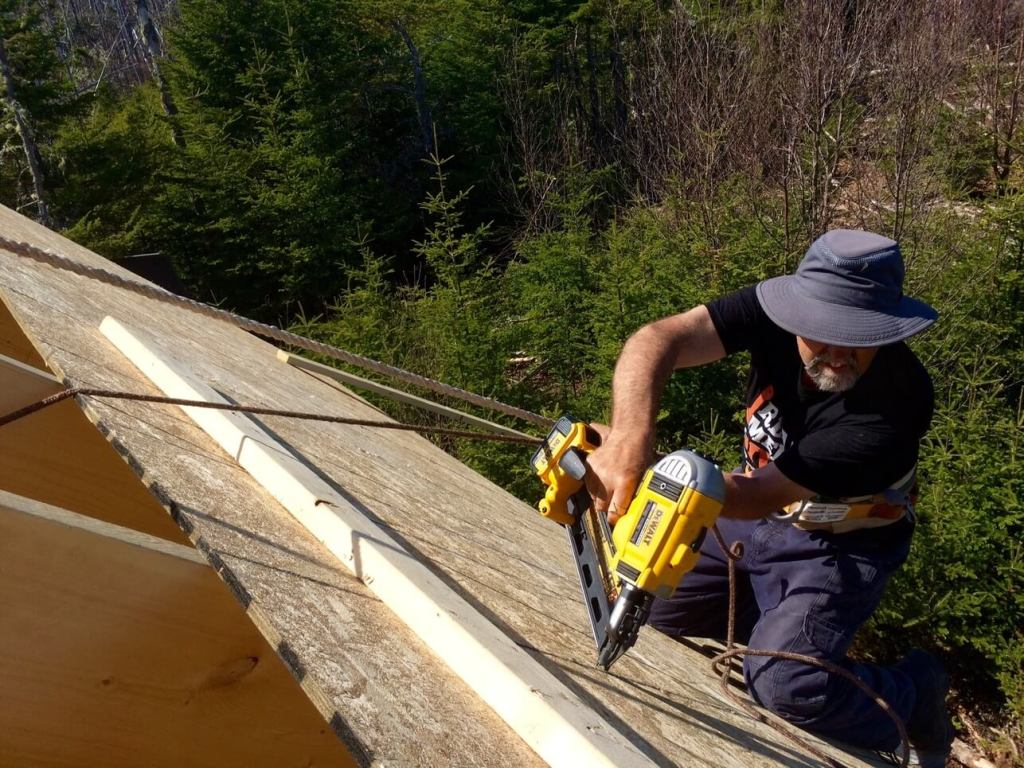 The-Off-Grid-Cabin-Roof-OSB-Sheathing-Rear-Cabin-Nailing-2