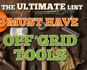 The Ultimate List Must Have Off Grid Tools Image