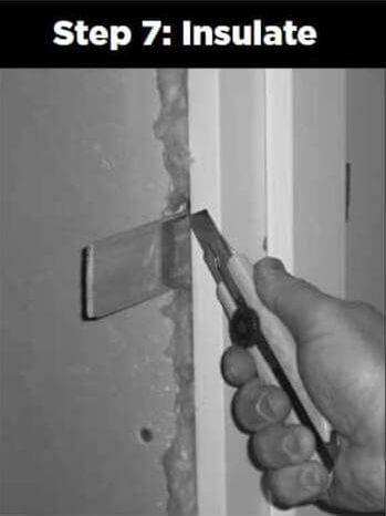 10 Door_Installation_Insulate