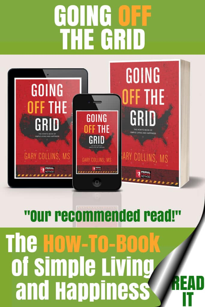 Going Off The Grid by Gary Collins Book Cover