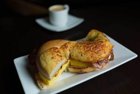 Asiago Breakfast Bagel