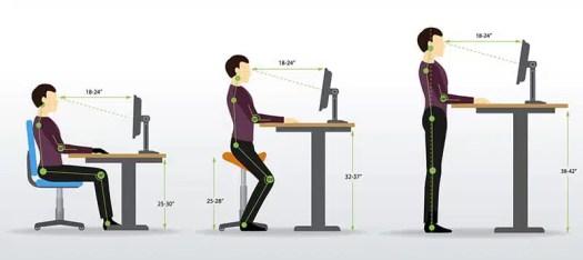 The Office Designer Healthy Office Desk