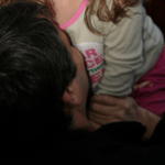 recovering the love in my life - holding my daughter