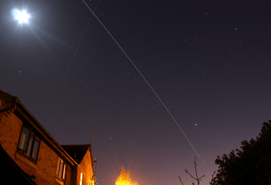 space station flyover, creative commons usage