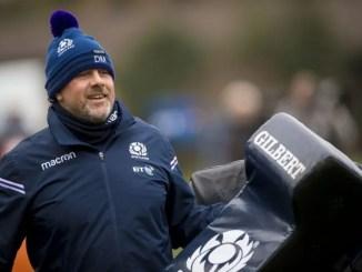 Scotland assistant coach Dan McFarland.