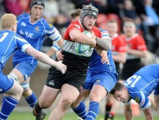 Grant Stewart was a key man in Glasgow Hawks' 46-0 victory over Jed-Forest