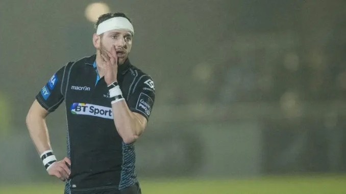 Finn Russell will play his last home game for Glasgow Warriors against Scarlets on Friday
