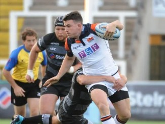Matt Scott in action against Newcastle.