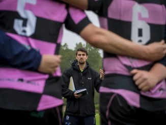 Ayr head coach Peter Murchie.