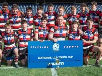Stirling County V Biggar U-16 National Youth League Final