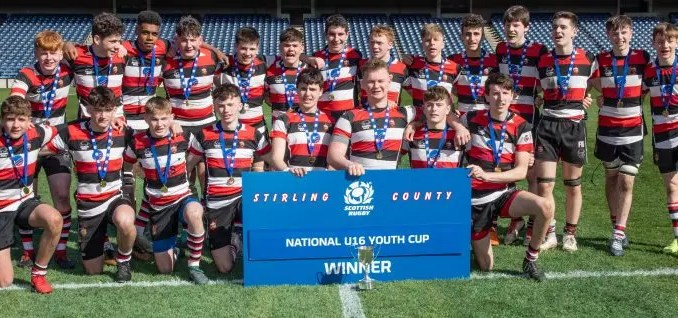 Stirling County V Biggar U-16 National Youth League Final