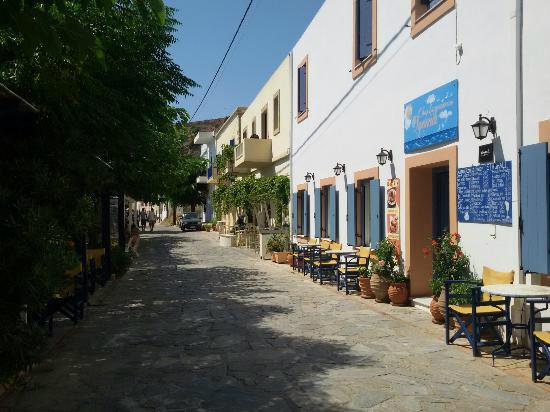 kythira villages