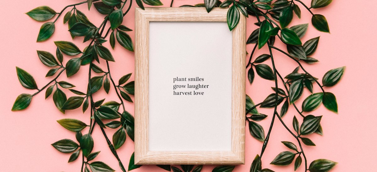 Plant Smiles, Grow Laughter, Harvest Love – Wall Art