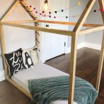Diy Toddler House Bed The Okie Home