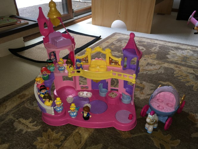 Toy Review Little People Princess Palace The Ok Moms